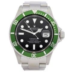 Rolex Submariner Kermit Stainless Steel 16610