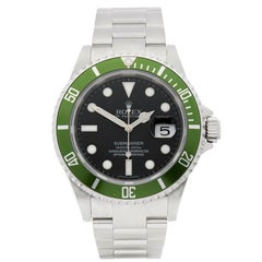 Rolex Submariner Kermit Stainless Steel Men's 16610LV