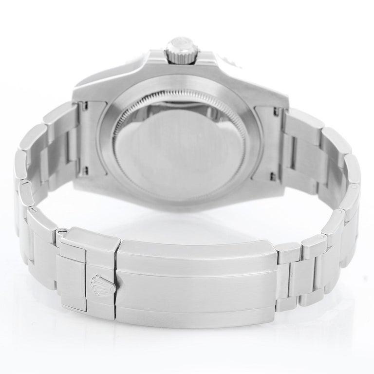 Rolex Submariner Men's Stainless Steel Watch 116610 In Excellent Condition In Dallas, TX