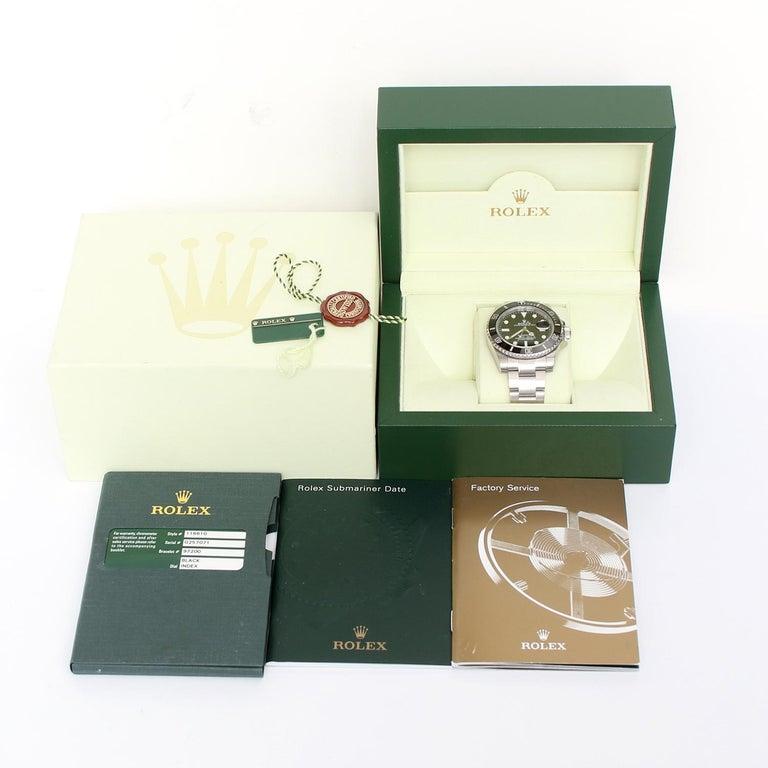 Rolex Submariner Men's Stainless Steel Watch 116610 1