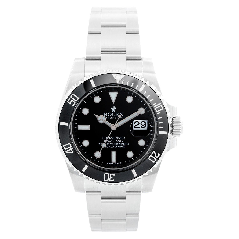 Rolex Submariner Men's Stainless Steel Watch 116610