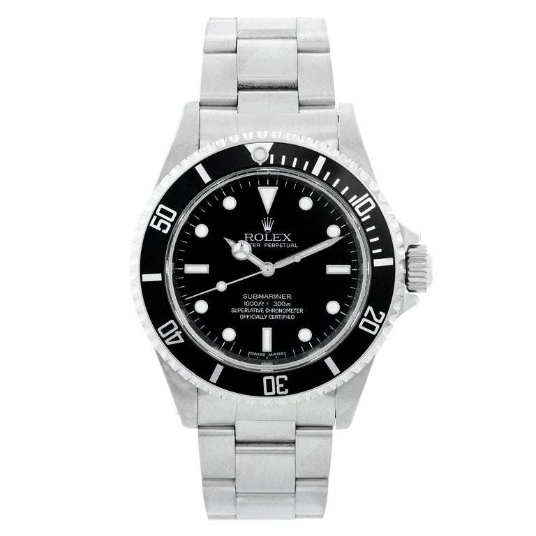 Rolex Submariner Men's Stainless Steel Watch 'no-date' 14060 For Sale