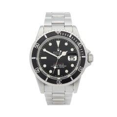 Rolex Submariner Meters First MKI Single Red Stainless Steel 1680 Wristwatch