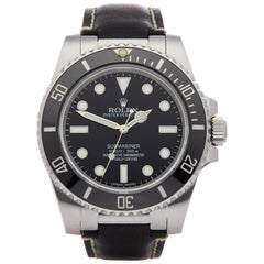 Rolex Submariner No Date 114060 Men's Stainless Steel 0 Watch