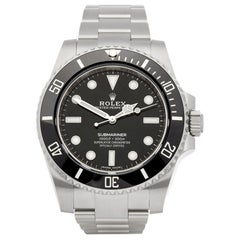 Rolex Submariner No Date 114060 Men's Stainless Steel  Watch