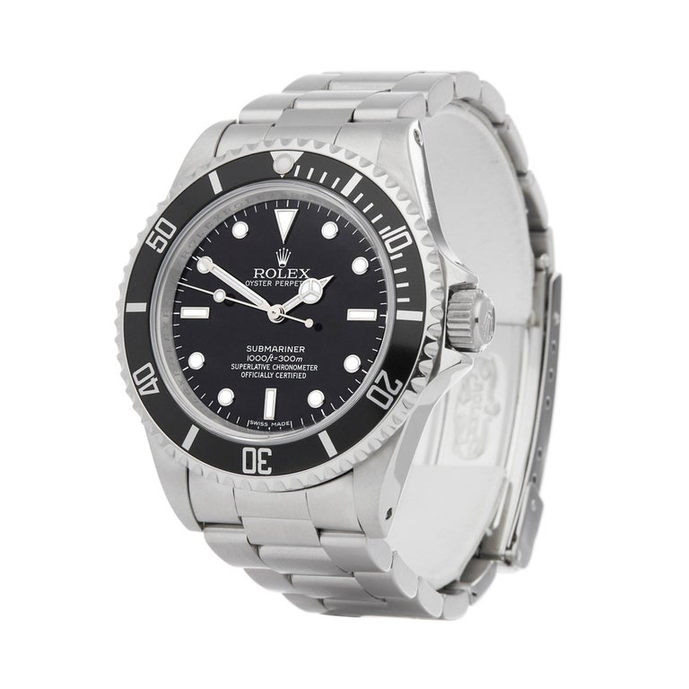 Xupes Reference: W007135 Manufacturer: Rolex Model: Submariner Model Variant: No Date Model Number: 14060M Age: 05-03-2008 Gender: Men Complete With: Xupes Presentation Box & Guarantee  Dial: Black Other Glass: Sapphire Crystal Case Size: 40mm Case