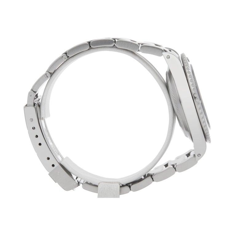 Women's or Men's Rolex Submariner No Date 14060M Men Stainless Steel Watch
