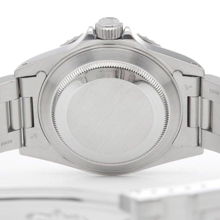 Rolex Submariner No Date 14060M Men Stainless Steel Watch 2