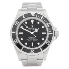 Rolex Submariner No Date 14060M Men Stainless Steel Watch