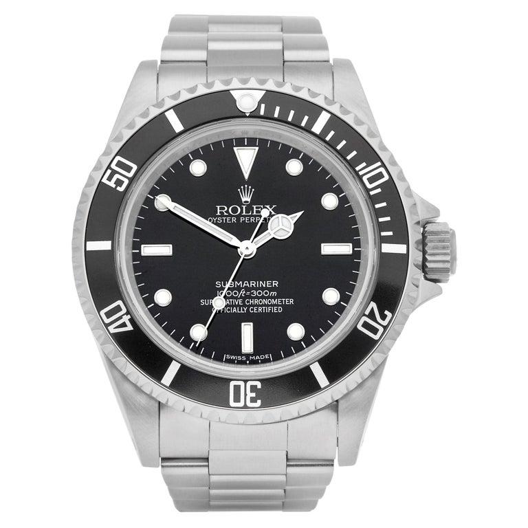 Rolex Submariner No Date 14060M Men Stainless Steel Watch