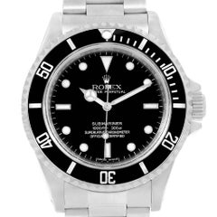 Rolex Submariner No Date 4 Liner Steel Men's Watch 14060