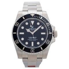 Rolex Submariner 'No Date' Ref 114060, Unworn, Box and Papers