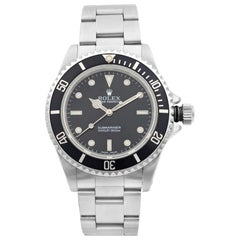 Rolex Submariner No Date Steel Black Dial Automatic Men's Watch 14060