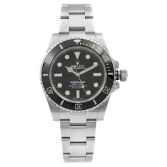 Rolex Submariner No Date Steel Ceramic Black Dial Automatic Men's Watch 114060