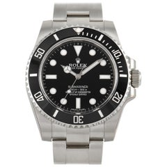 Rolex Submariner No Date Watch 114060