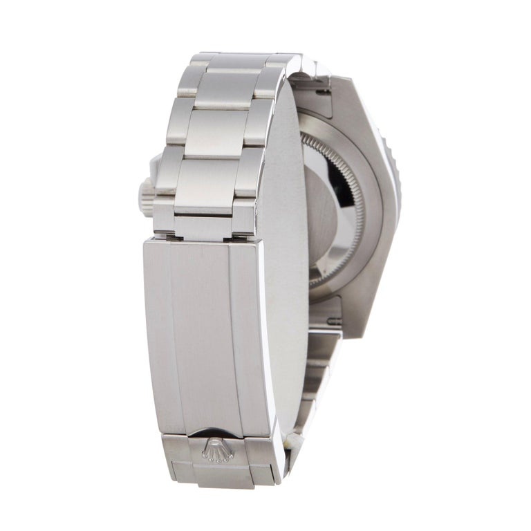 Rolex Submariner Non-Date 114060 Men's Stainless Steel Watch For Sale 2