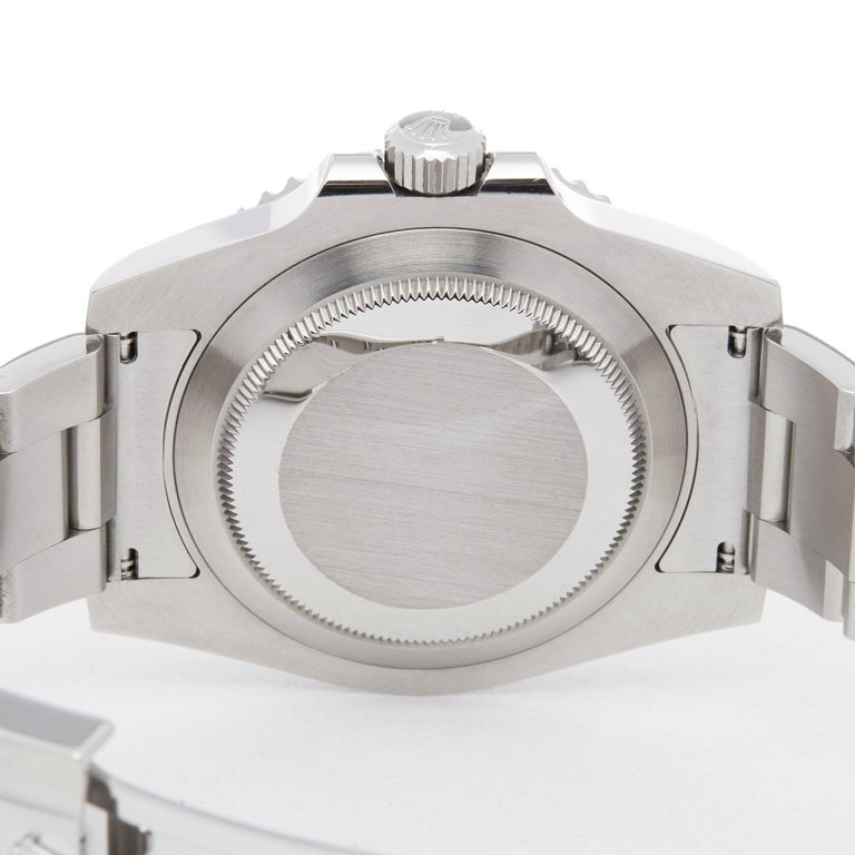Rolex Submariner Non-Date 114060 Men's Stainless Steel Watch For Sale 3