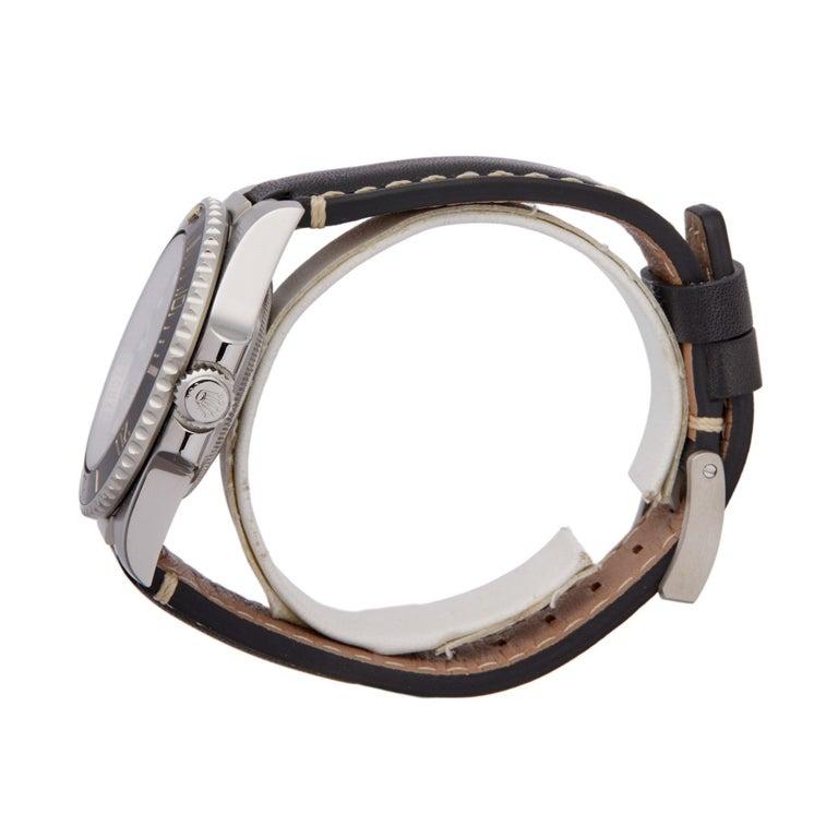 Rolex Submariner Non Date 114060 Men's Stainless Steel Watch In Excellent Condition For Sale In Bishops Stortford, Hertfordshire