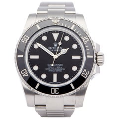 Rolex Submariner Non-Date 114060 Men's Stainless Steel Watch