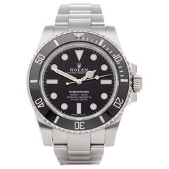 Rolex Submariner Non-Date 114060 Men's Stainless Steel Watch