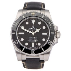 Rolex Submariner Non Date 114060 Men's Stainless Steel Watch