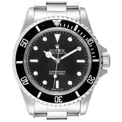 Rolex Submariner Non-Date 2 Liner Steel Men's Watch 14060 Box Papers