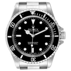 Rolex Submariner Non-Date 2 Liner Steel Steel Men's Watch 14060
