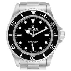 Rolex Submariner Non-Date 2 Liner Steel Steel Mens Watch 14060