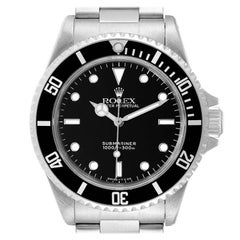 Rolex Submariner Non-Date 2 Liner Steel Steel Mens Watch 14060