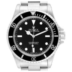 Rolex Submariner Non-Date 2-Liner Steel Steel Men's Watch 14060