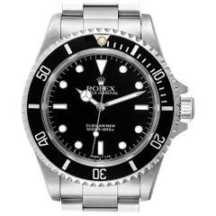 Rolex Submariner Non-Date 2 Liner Steel Steel Men's Watch 14060