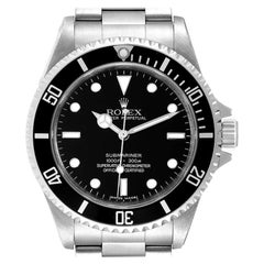 Rolex Submariner Non-Date 4 Liner Steel Mens Watch 14060 Box Card