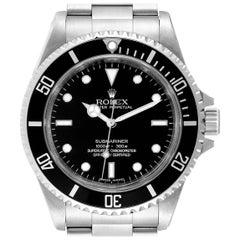 Rolex Submariner Non-Date 4 Liner Steel Men's Watch 14060