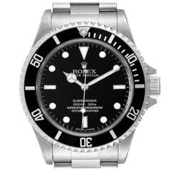 Rolex Submariner Non-Date 4 Liner Steel Mens Watch 14060