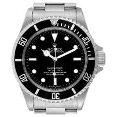 Rolex Submariner Non-Date 4 Liner Steel Steel Men's Watch 14060