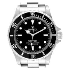 Rolex Submariner Non-Date 4 Liner Steel Steel Men's Watch 14060