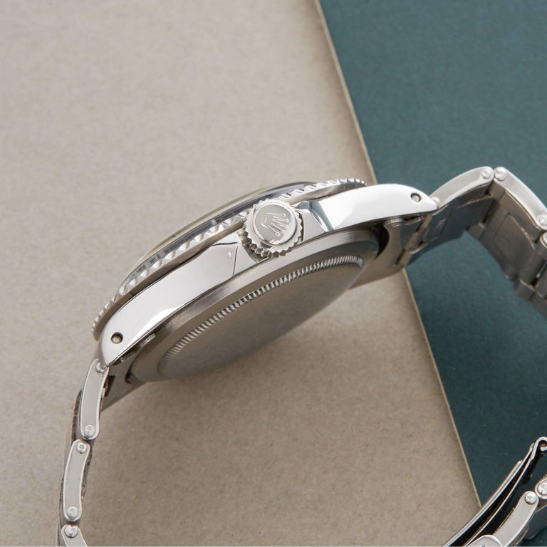 Rolex Submariner Non Date 5512 Men's Stainless Steel PCG Gilt Gloss Meters First 1