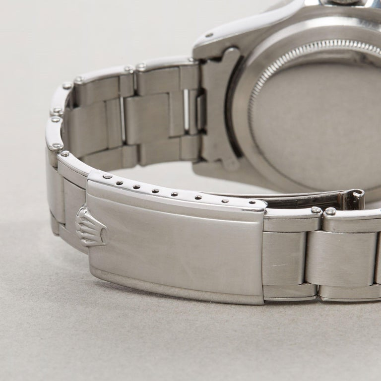 Rolex Submariner Non Date 5512 Men's Stainless Steel PCG Gilt Gloss Meters First 4