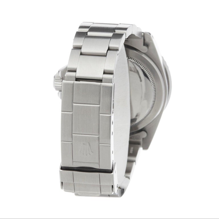 Rolex Submariner Non Date Gilt Gloss Meters First Stainless Steel 5513 For Sale 2