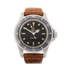 Rolex Submariner Non Date Gilt Stainless Steel 5513