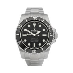 Rolex Submariner Non Date Stainless Steel 114060