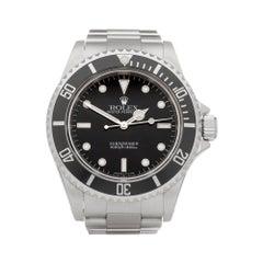 Rolex Submariner Non Date Stainless Steel 14060 Wristwatch