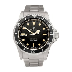 Rolex Submariner Non Date Stainless Steel 5513