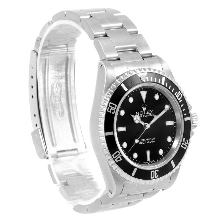 Rolex Submariner Non-Date Stainless Steel Men's Watch 14060 For Sale 7