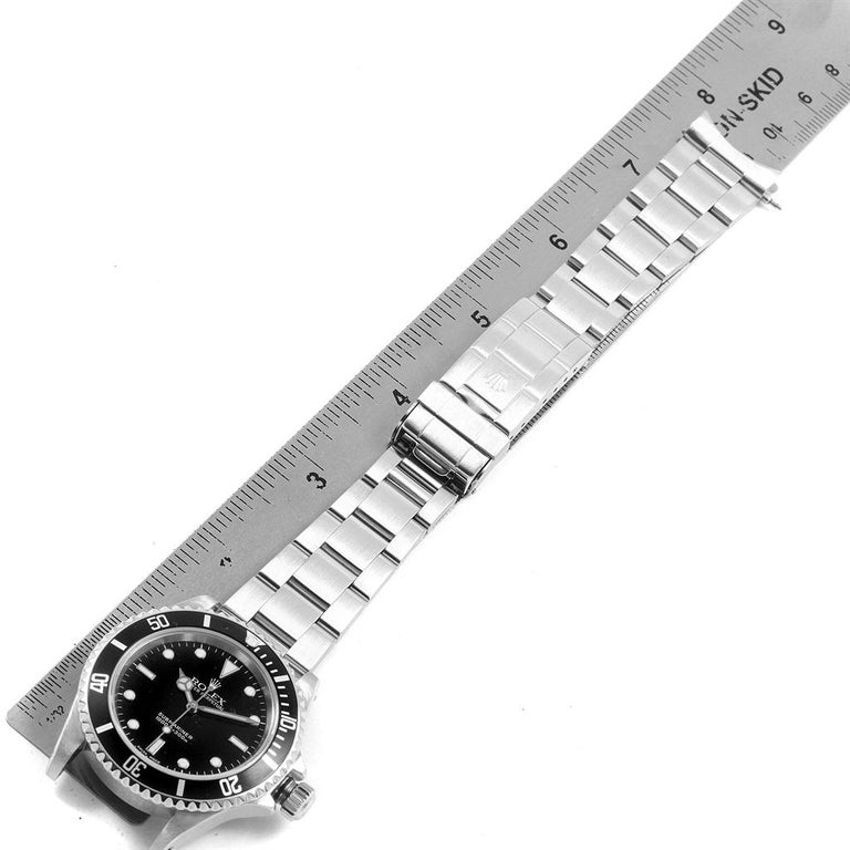 Rolex Submariner Non-Date Stainless Steel Men's Watch 14060 For Sale 8