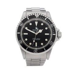 Rolex Submariner Non Date Stainless Steel Wristwatch