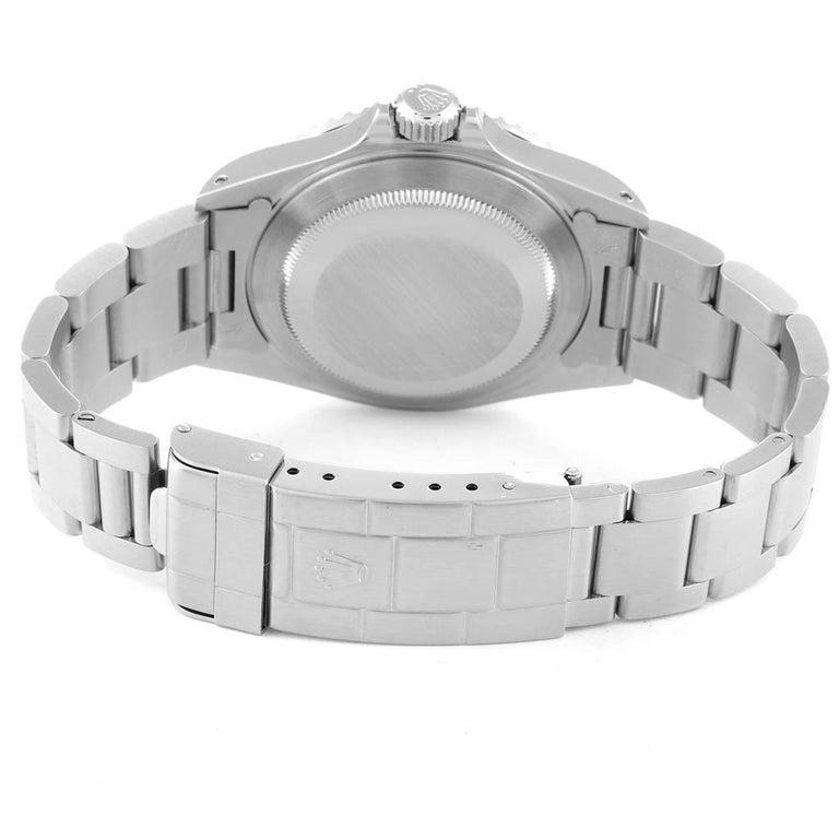 Rolex Submariner Non-Date Steel Men's Watch 14060 Box Card For Sale 5