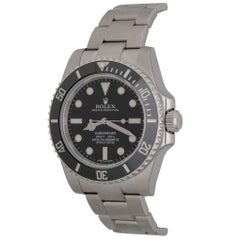 Rolex Submariner Oyster Perpetual Date Automatic Wristwatch Model 114060