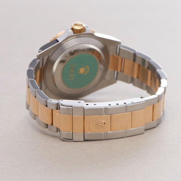 Rolex Submariner Serti 16613 Men Yellow Gold & Stainless Steel 0 Watch For Sale 2