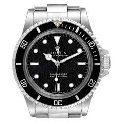 Rolex Submariner Spider Dial Vintage Stainless Steel Mens Watch 5513